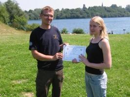 Jana Schulze, IDA CMAS Bronze (*), 27.07.2008
