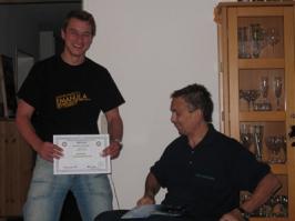 Markus Kruse, Spezialkurs Nitrox Basic Diver, 16.07.2008