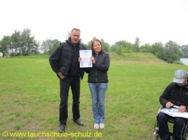 Friederike Sponagel, Spezialkurs Orientieren unter Wasser, 03.07.2011