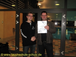 Jochen Matschulat, Spezialkurs Nitrox Basic Diver, 29.07.2014