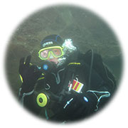 Junior Open Water Diver in Aktion